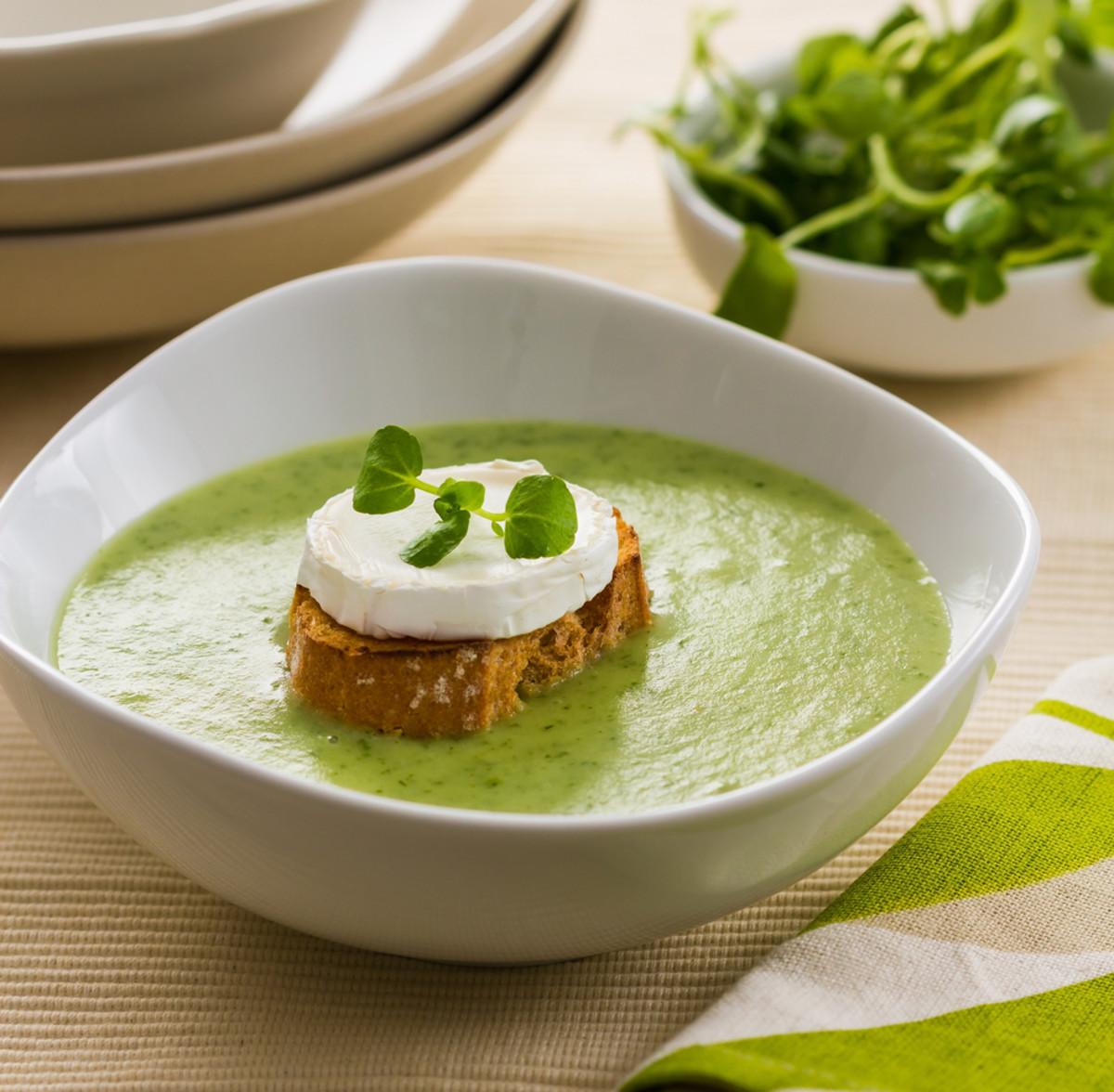 mustard greens soup