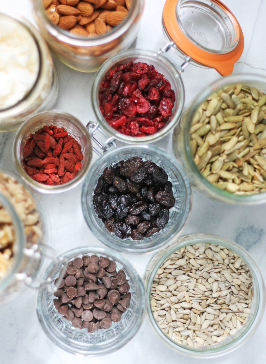 trail mix ingredients