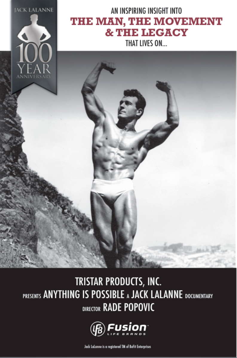 Jack LaLanne screening information.