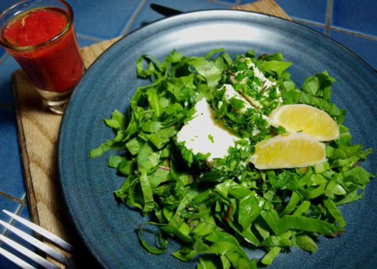 lemon-goat-cheese-salad