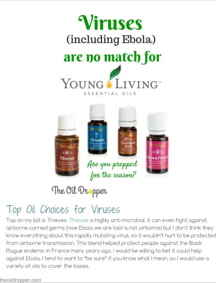 Young Living distributor poster