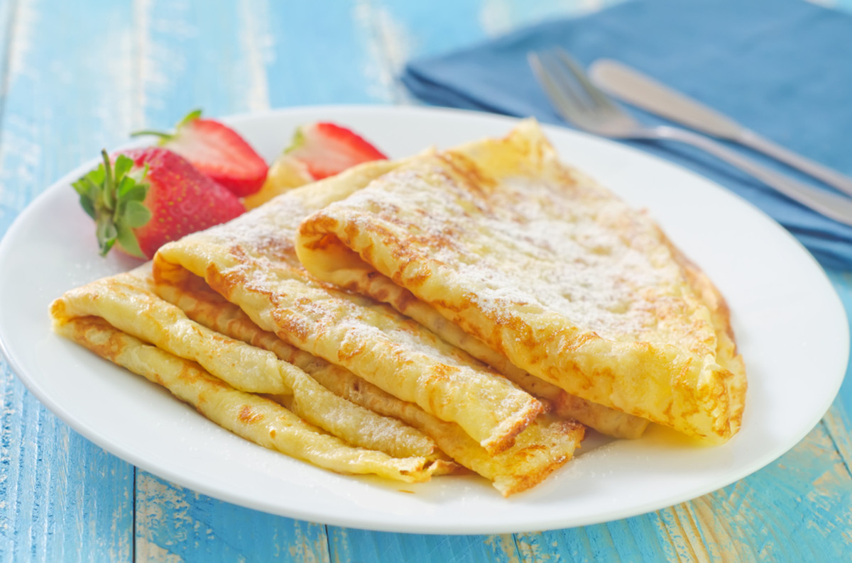 This paleo crepes recipe is grain free and a deliciously healthy way ...