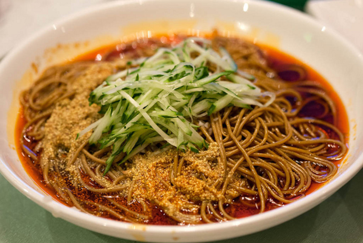 korean buckwheat noodles