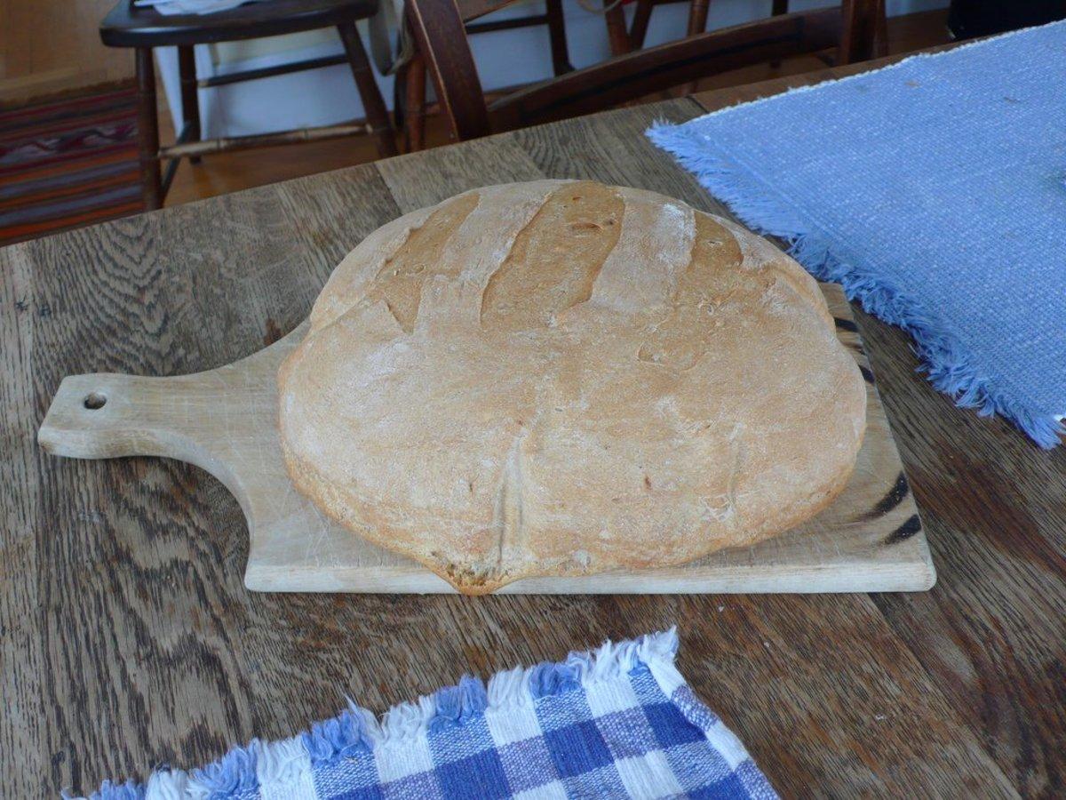 homemade bread photo