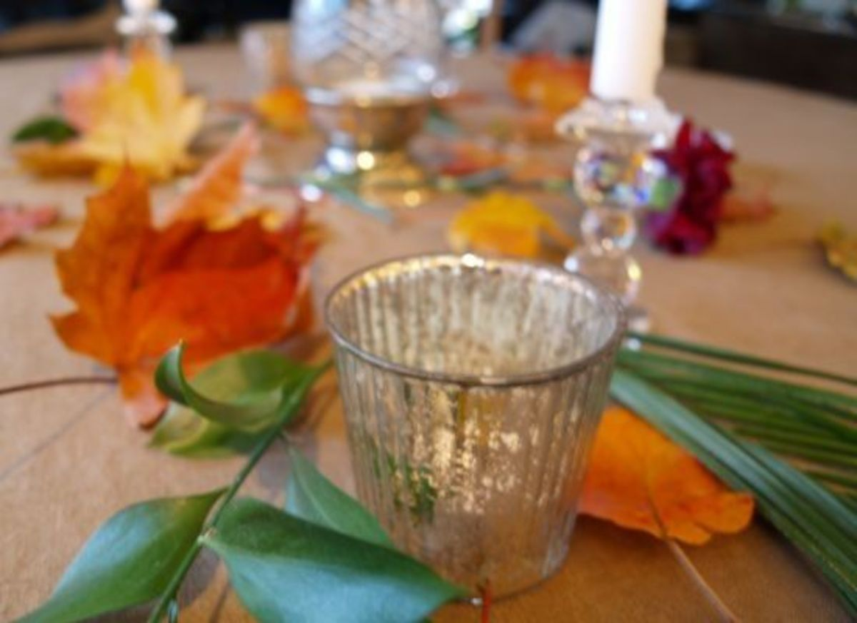 autumn table