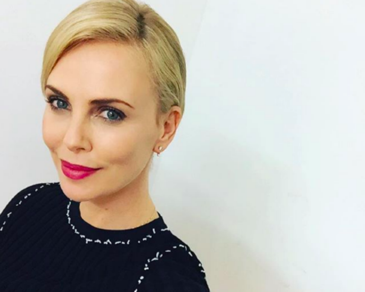 Charlize Theron Says She Got Depressed After Eating Too Much Junk Food