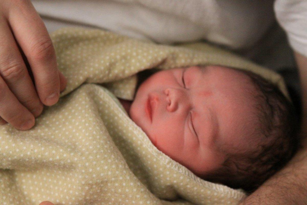 natural childbirth photo