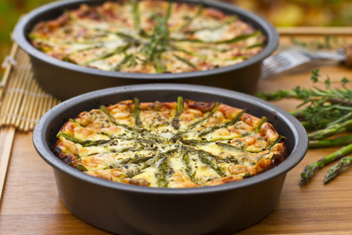 Whole-Wheat Asparagus Tart with a Ricotta-Egg Filling: A Comforting Ode to the Spring Season