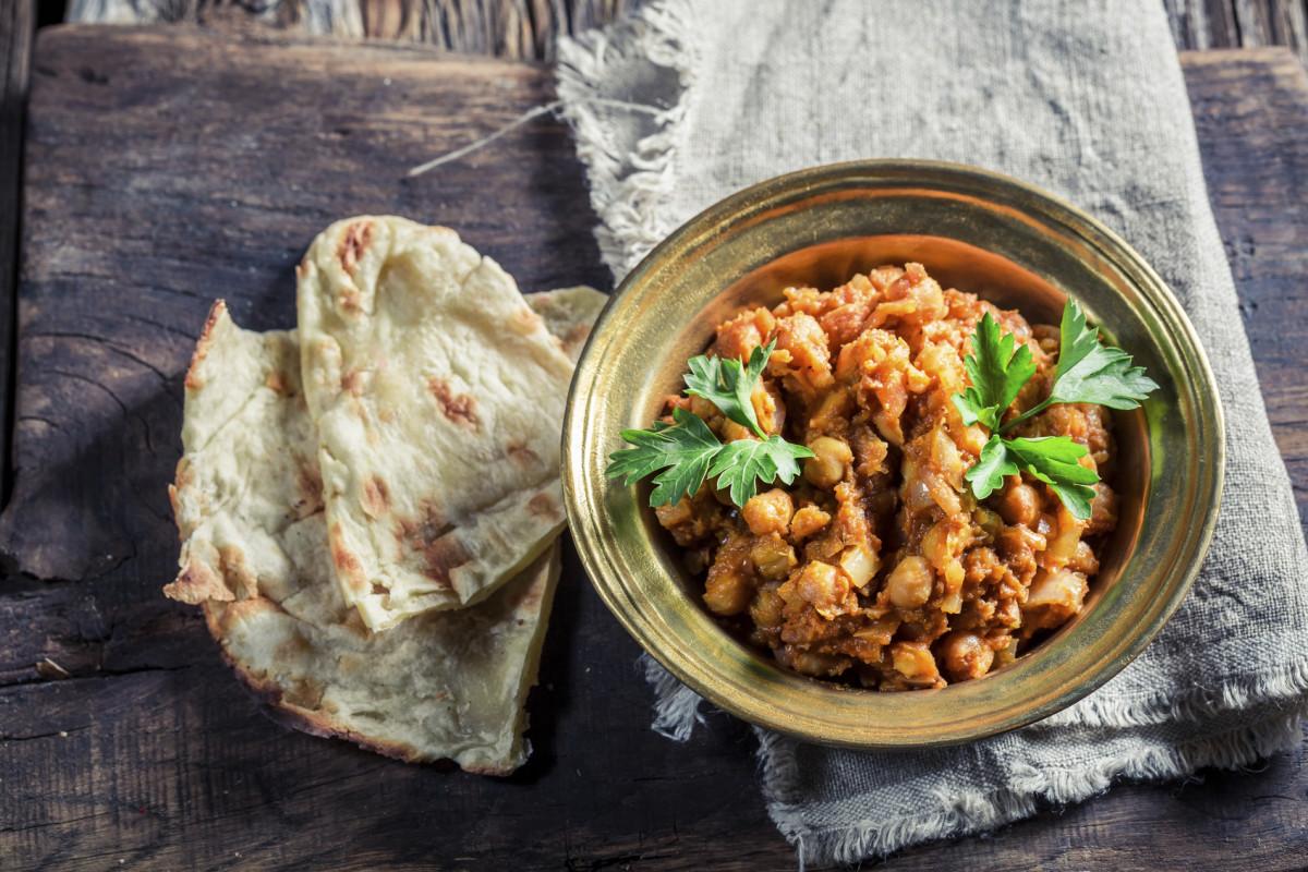 vegetarian indian recipes - chana masala