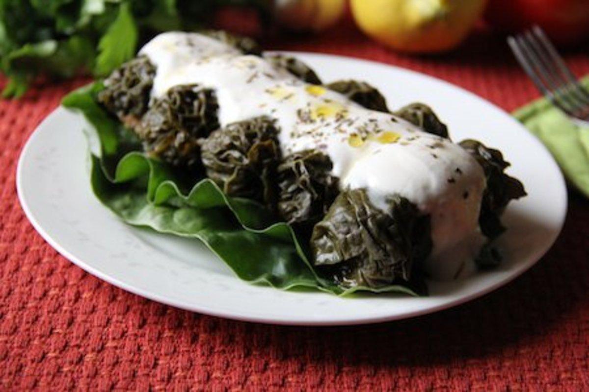 stuffed kale