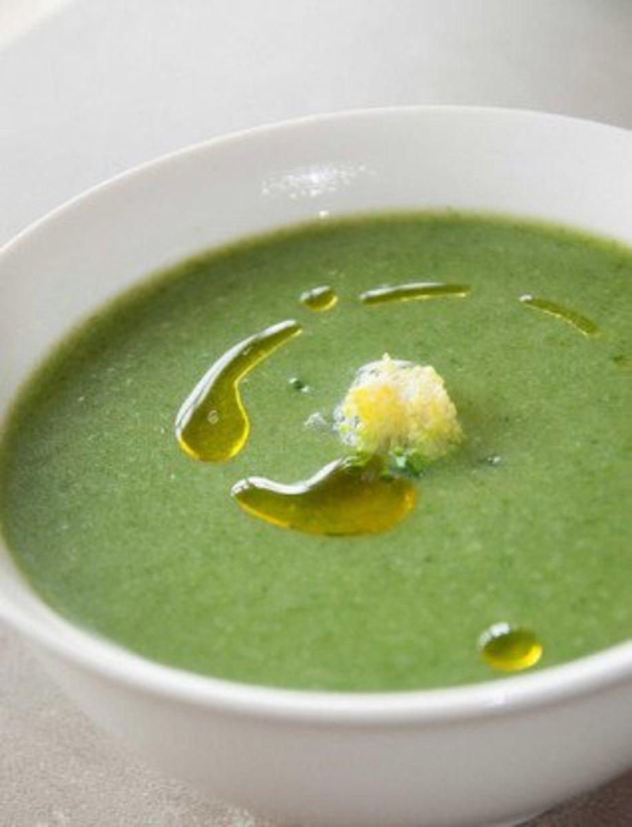 spinach broccoli soup
