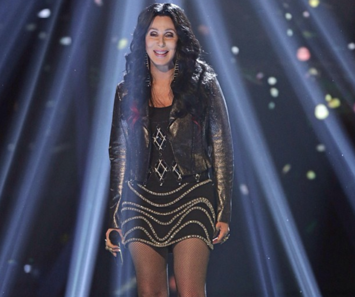 71 Year Old Cher Turns Back Time By Doing Planks