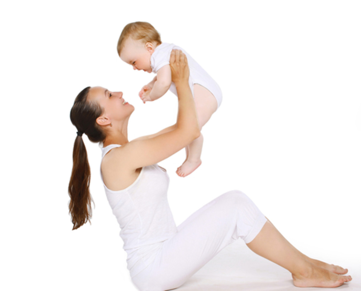 Exercising New Mom
