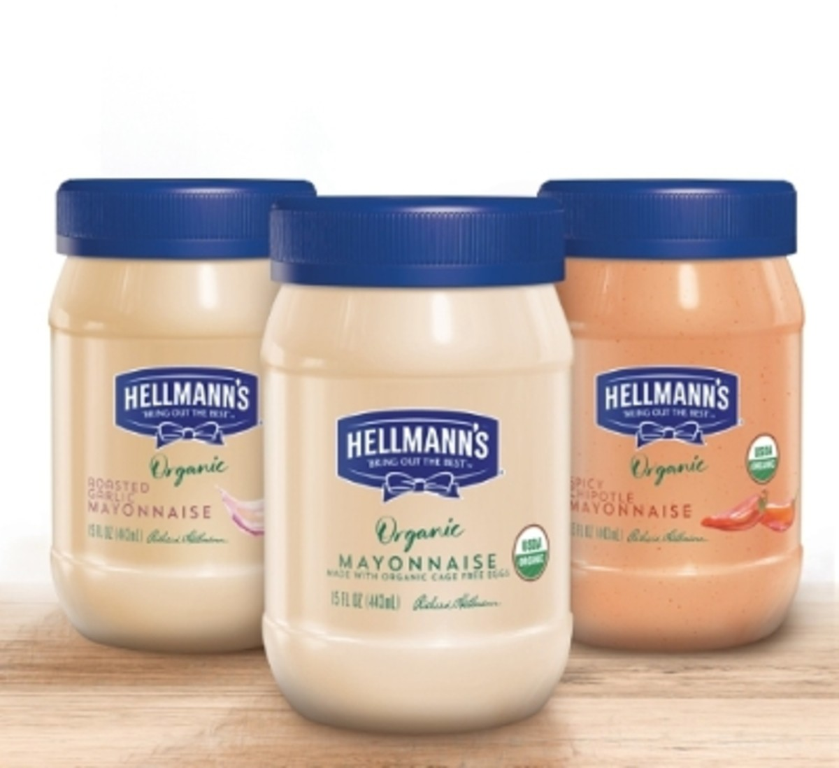Organic mayonnaise without soy