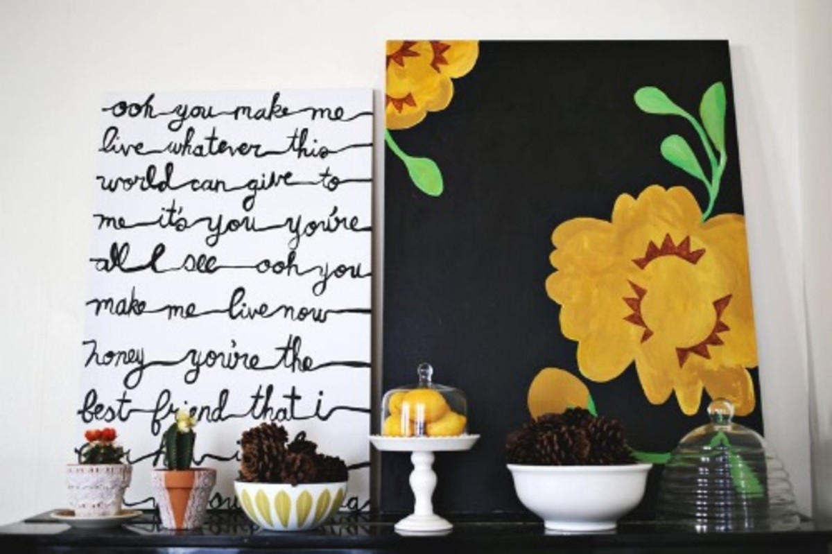 9 Simply Chic DIY Wall Art Ideas to Breathe Life Into Bare Walls