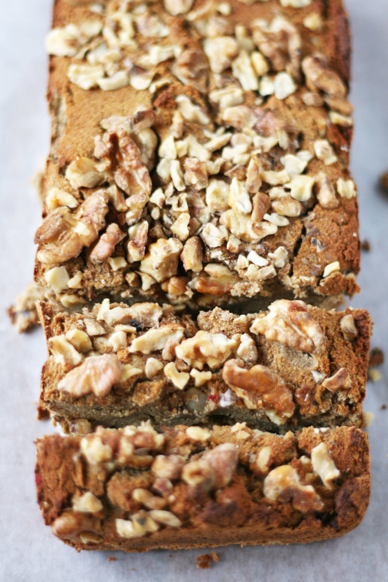 Coconut Flour Paleo Banana Bread with Walnuts: Grain-Free Goodness