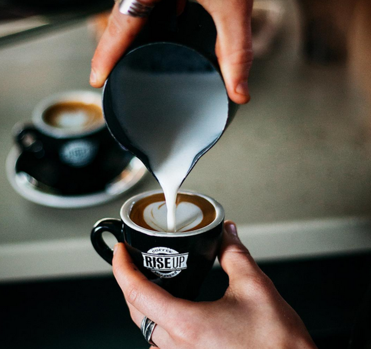 Rise Up coffee carries conscious coffee.
