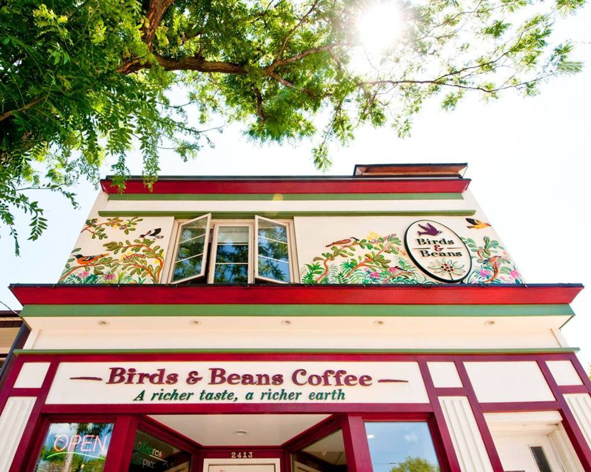 Birds and Beans carries conscious coffee.