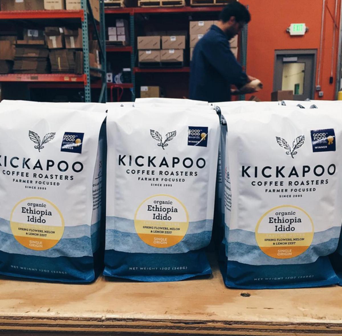 Kickapoo knows conscious coffee.