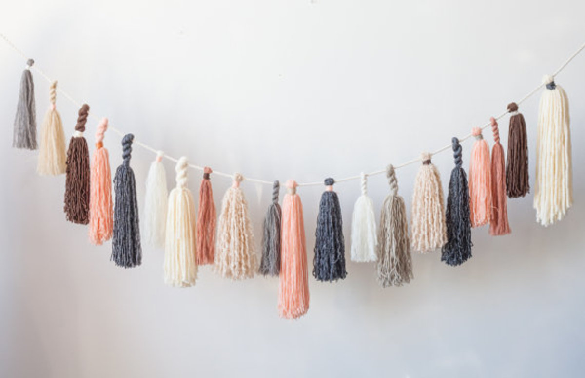 Diy yarn crafts for using up leftover yarn.