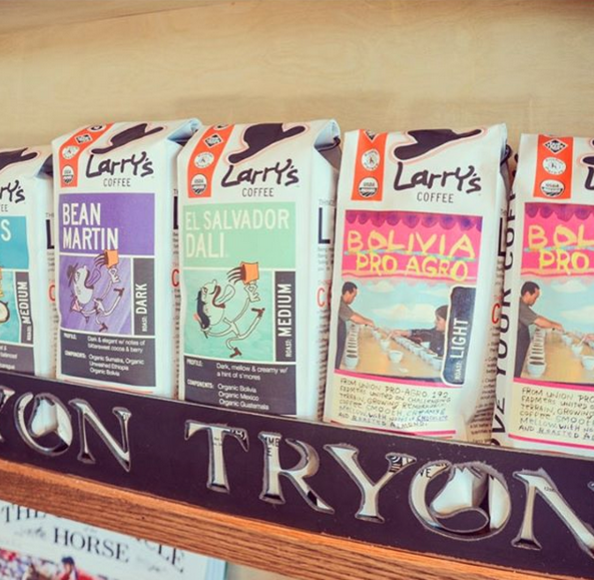 Larry's Coffee makes conscious coffee taste great.