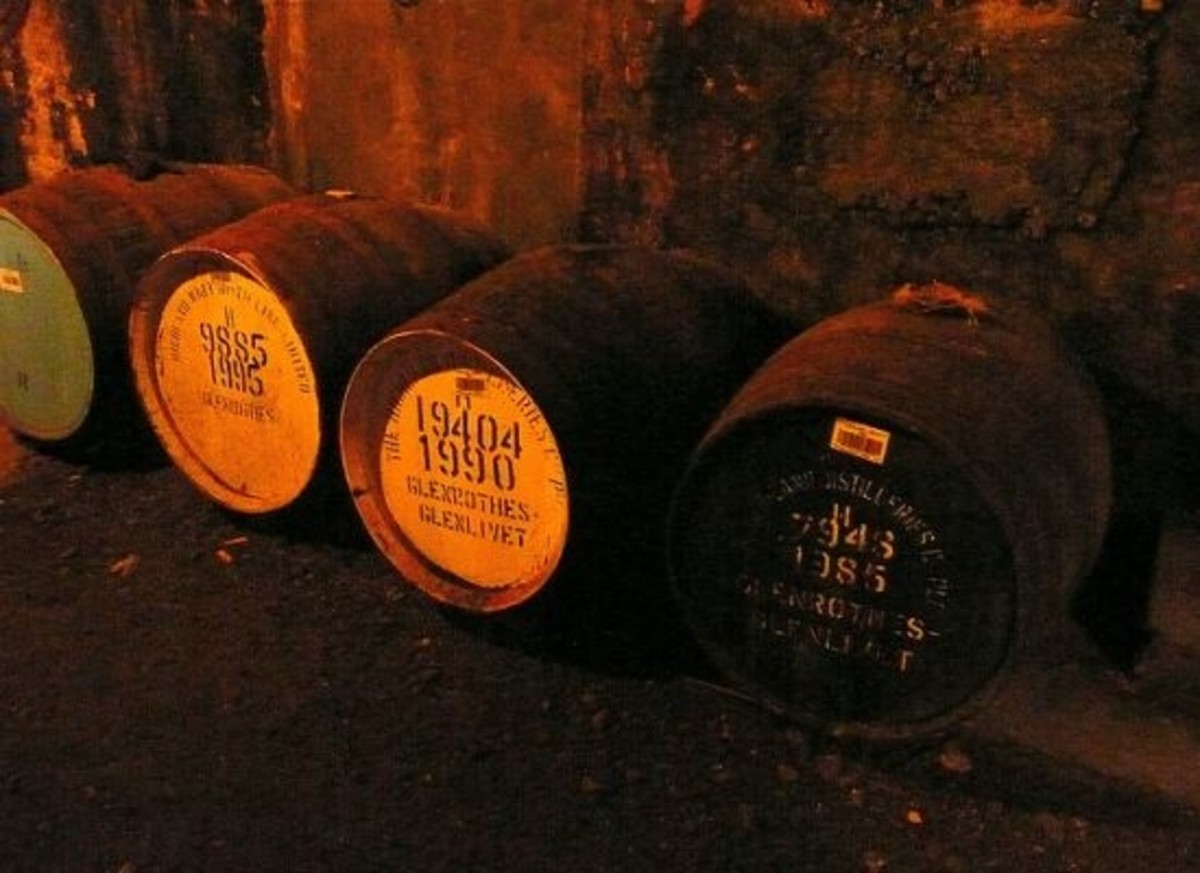 Scotch Whisky Distillers Cut Carbon Emissions...With Whisky