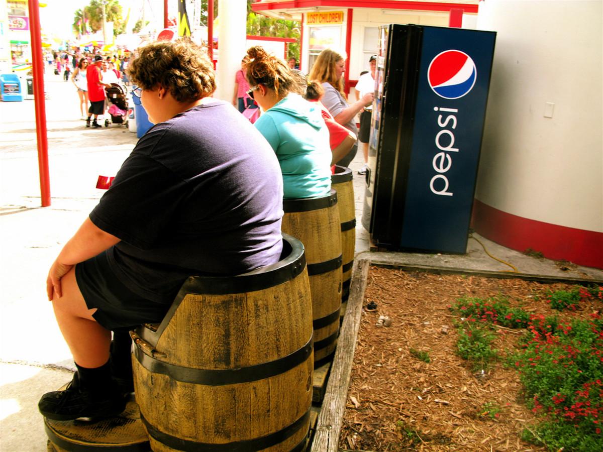 obese rural america photo