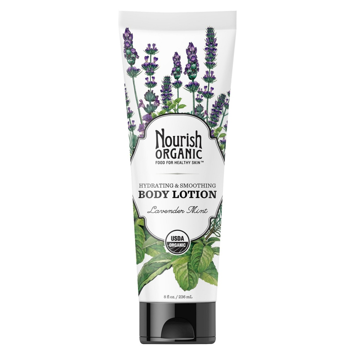 Nourish Organic Hydrating & Smooth Lavender Mint Body Lotion