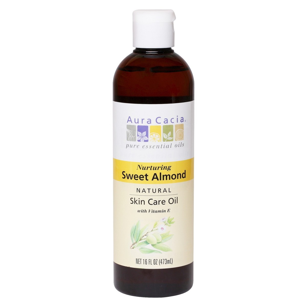 Aura Cacia Sweet Almond Natural Skin Care Oil