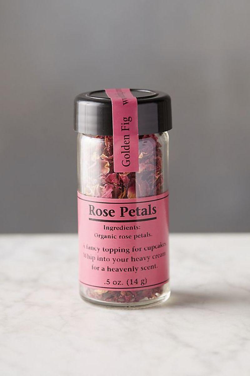 Golden Fig Edible Rose Petals