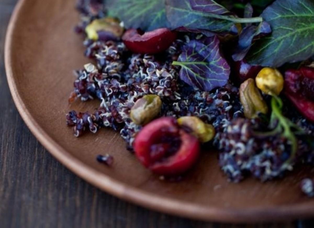 cherry quinoa
