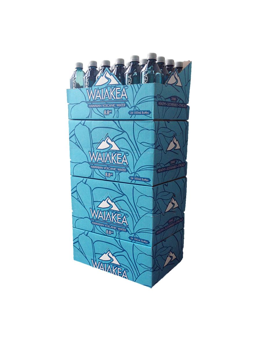 Waiakea water sustainable packaging