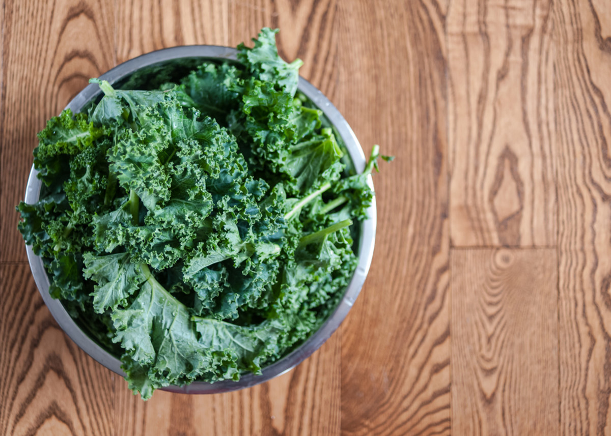 Simple recipes, kale