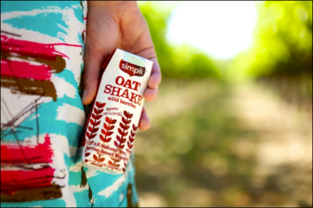 Oatshake is non dairy and made with GMO free ingredients