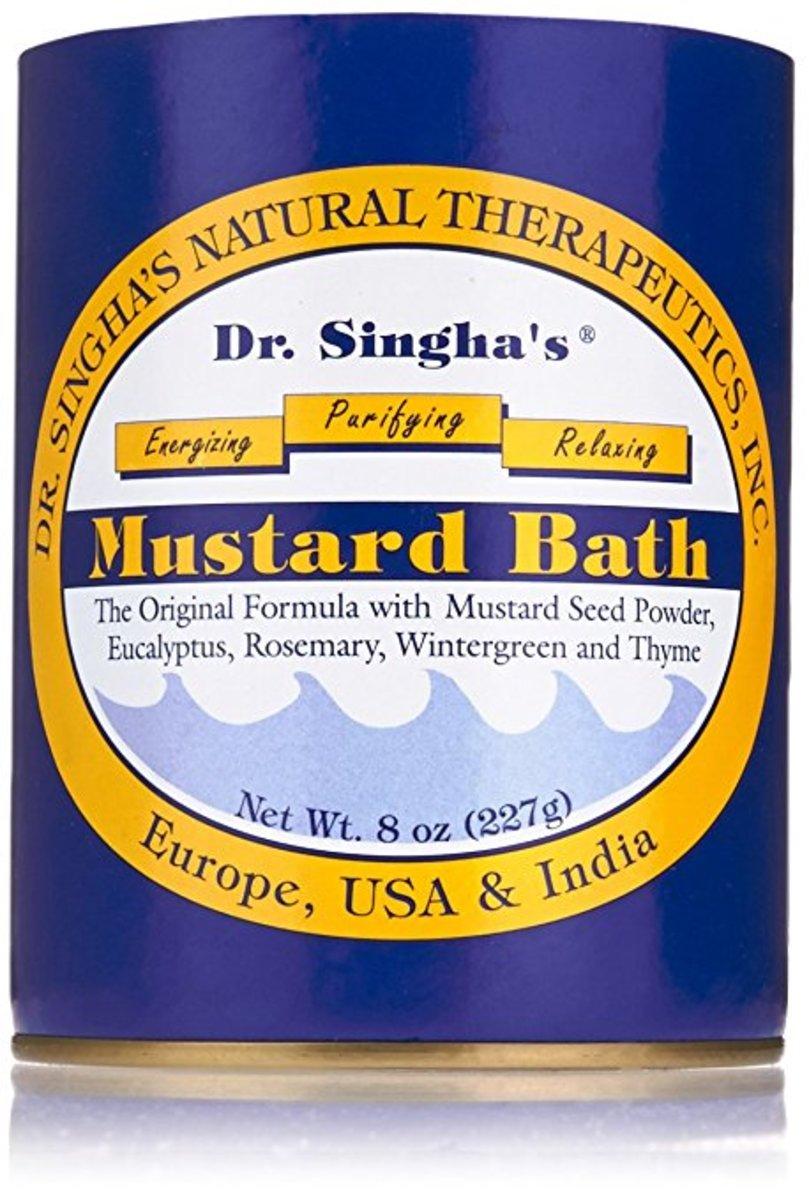 Dr. Singha's Mustard Bath, $10.65