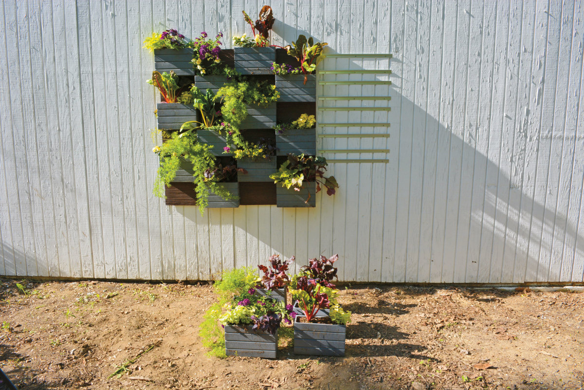 Vertical Wall Garden Brackets