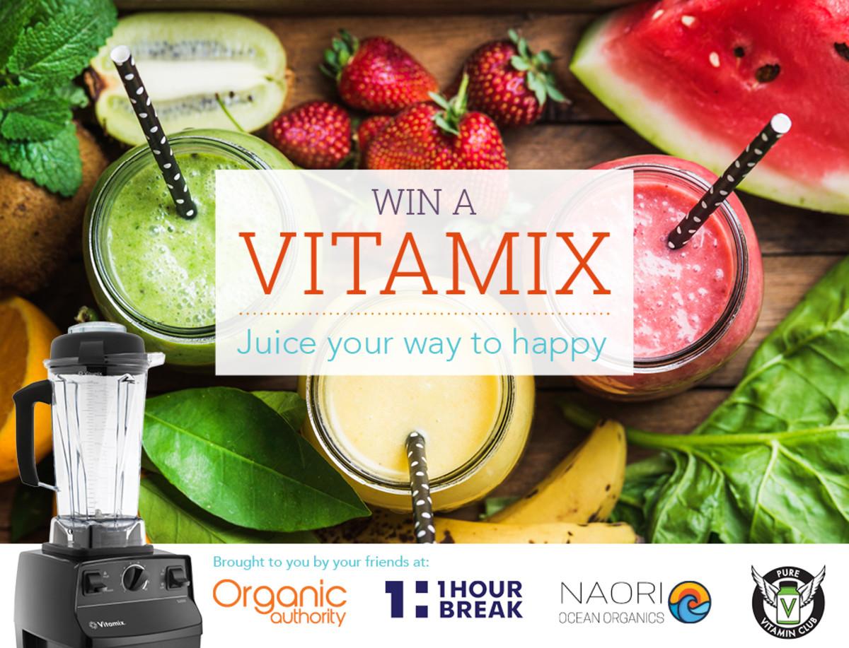 Organic Authority Vitamix Giveaway