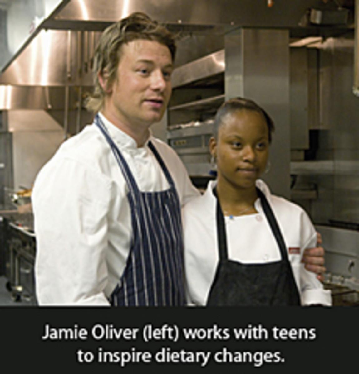JAMIE OLIVER, EMILY HILL