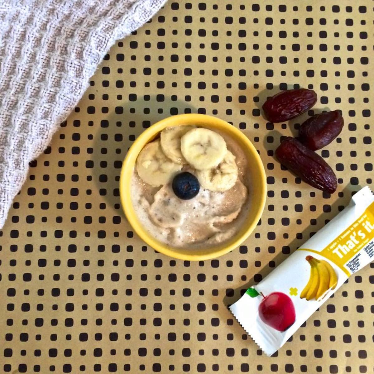Healthy snacks, fruit bar