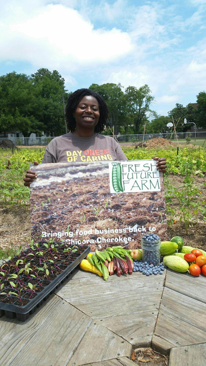 urban farming brings oasis to south carolina food desert