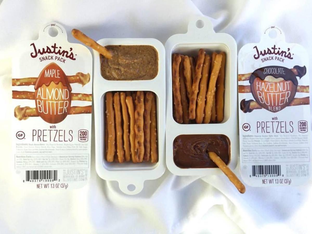 Healthy snacks, pretzels