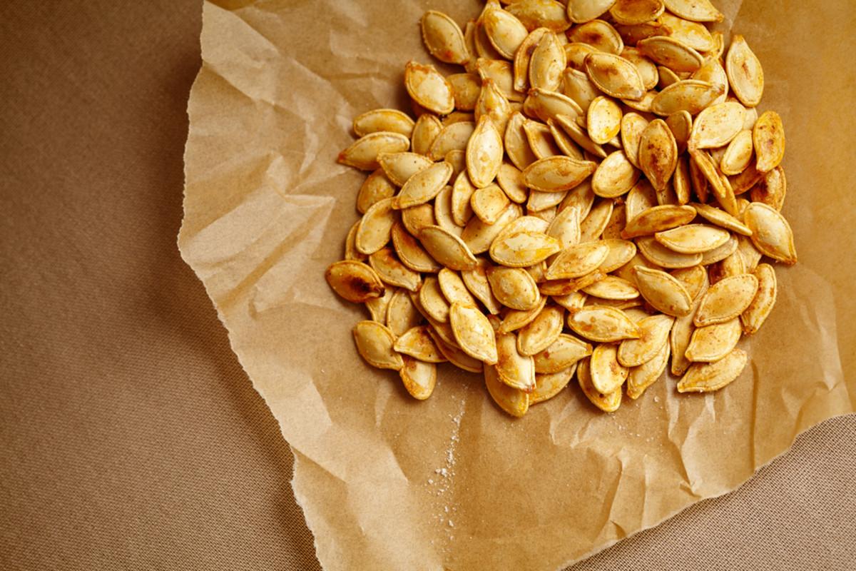healthy snacks, pumpkin seeds
