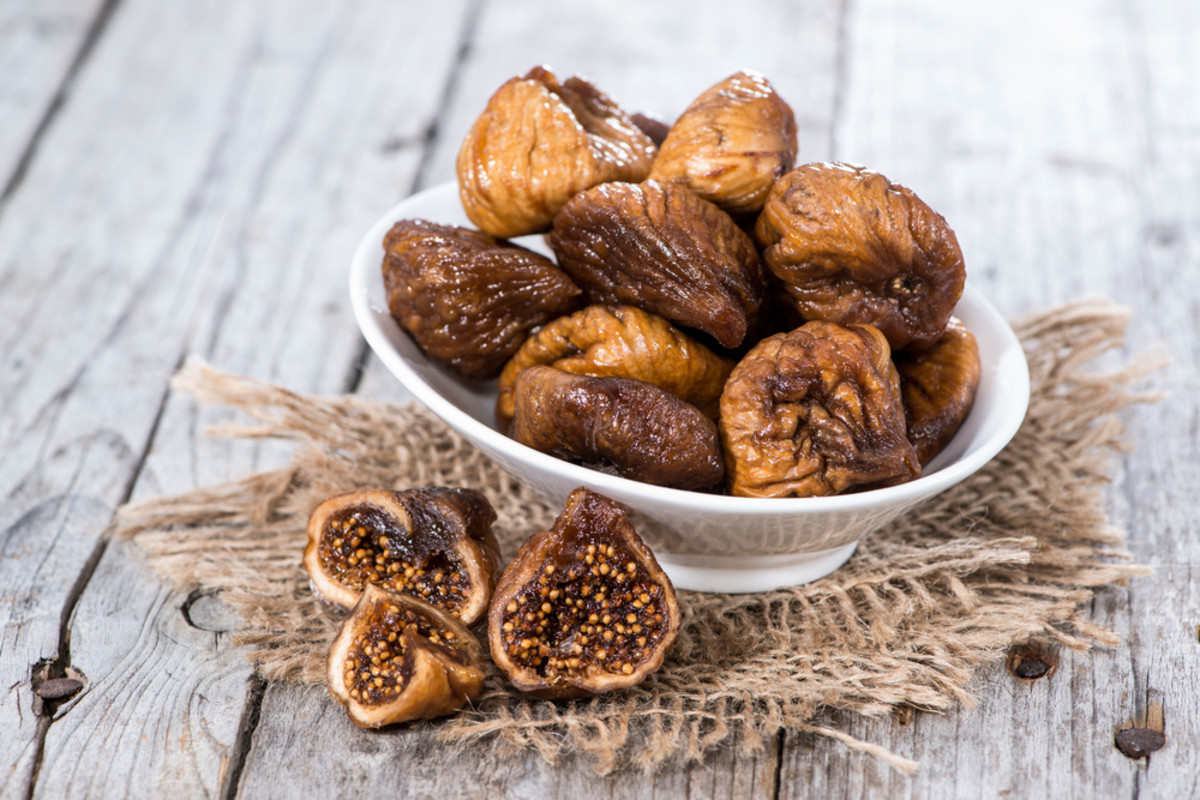 Healthy snacks, figs