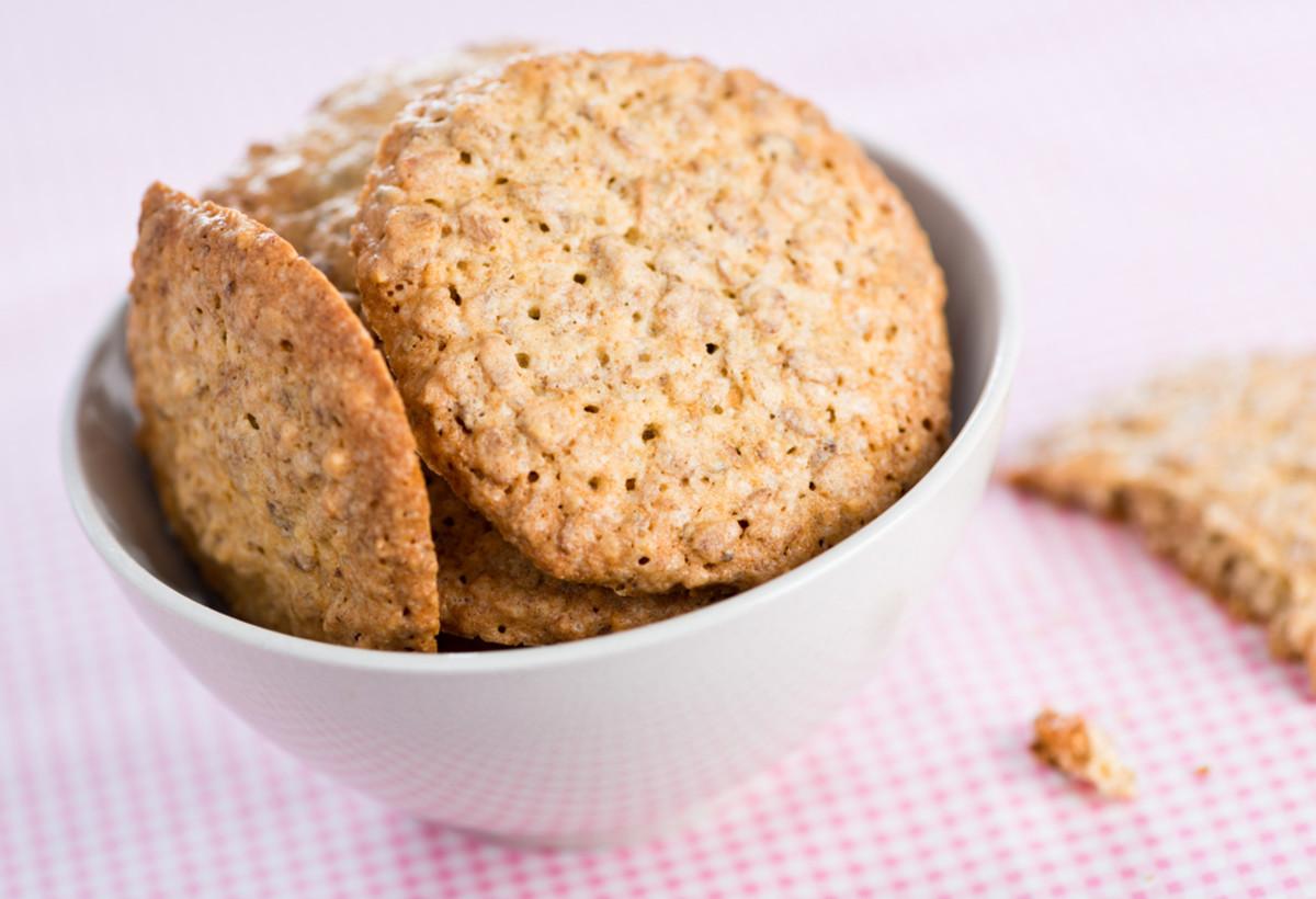 Healthy snacks, crackers