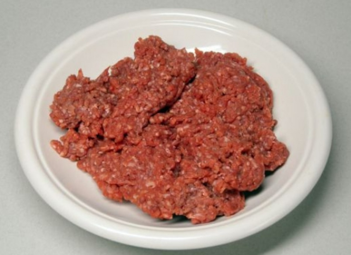 Pink Slime Ground Beef