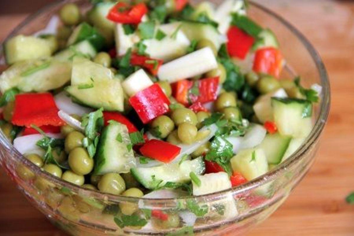Summer solstice recipes, salad
