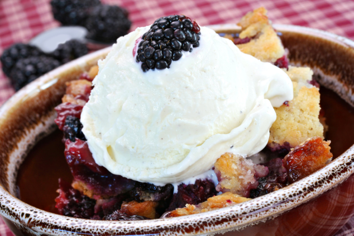 Summer solstice recipes, blackberry