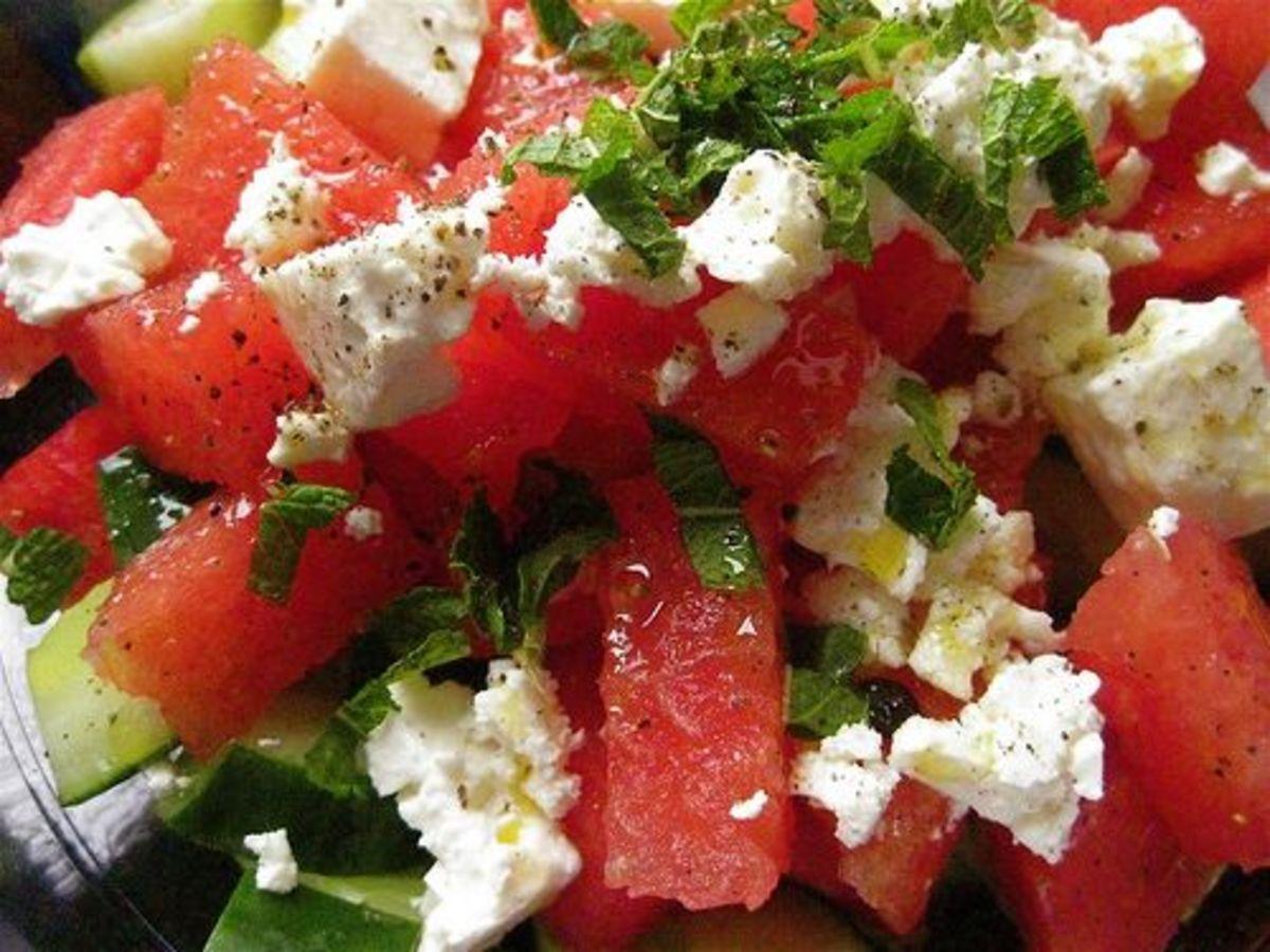 Summer solstice recipes, fruit salad