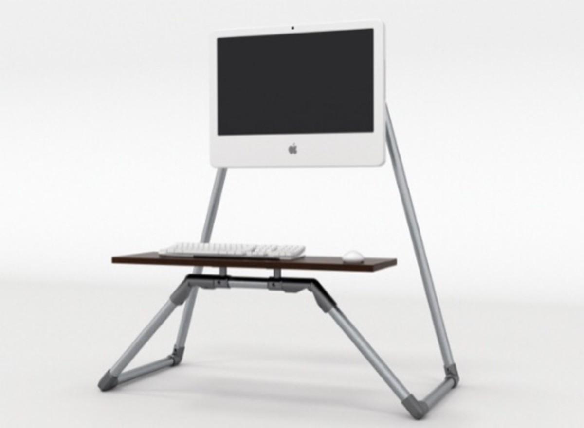 desktop stand-up desk