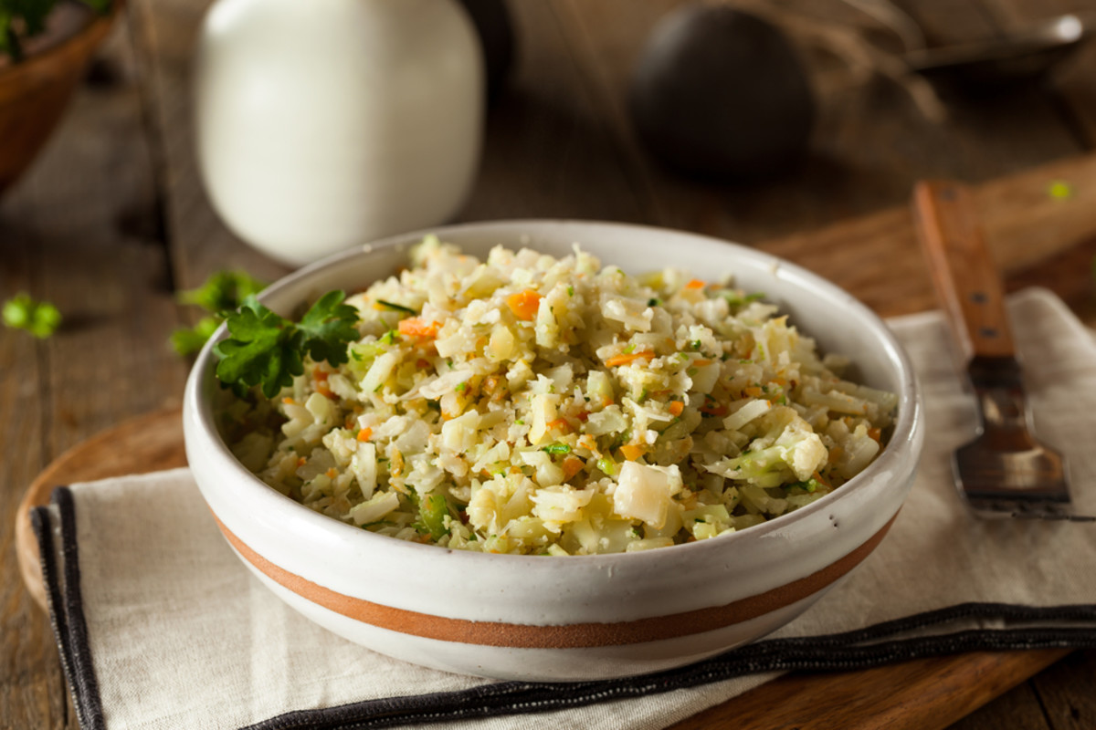 Vegetable Cauliflower Fried Rice Recipe